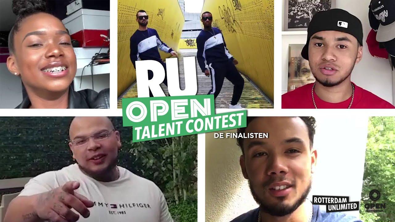 Dit zijn de finalisten van de RU OPEN TALENT CONTEST 2020