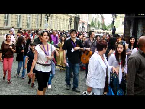 Parade of Artists, Khamoro Roma Festival, Prague May 31, 2012