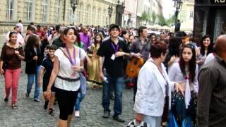 Parade of Artists, Khamoro Roma Festival, Prague May 31, 2012