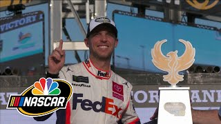 Denny Hamlin, Chris Gabehart push each other to Championship 4 in Miami | Motorsports on NBC