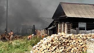 11 августа пожар в Ниженй Туре 4