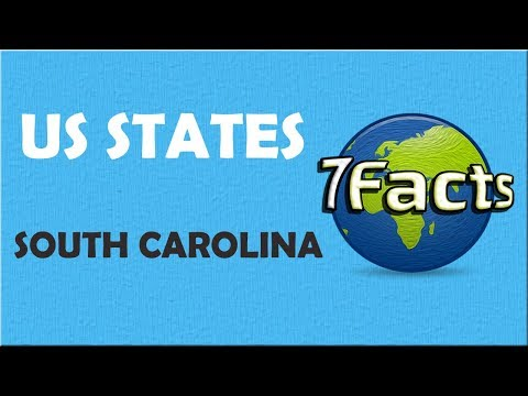 7 Facts about South Carolina