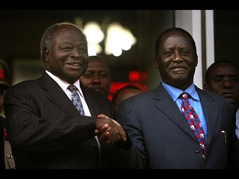 Developing Story: Raila Odinga meeting Former President Mwai Kibaki