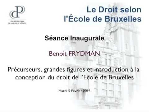 B. Frydman - Le Droit selon l'Ecole de Bruxelles