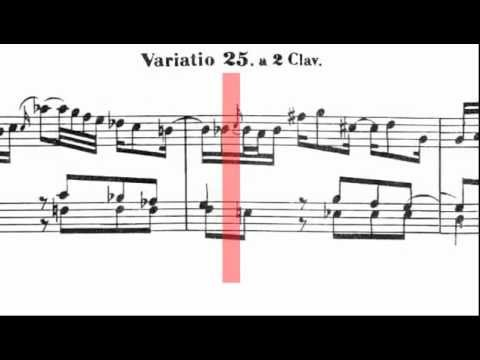 BWV 988 - Goldberg Variations (Scrolling)