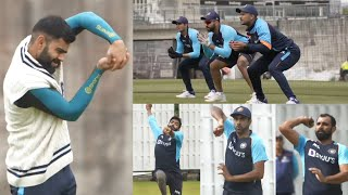 Team India Practice Session Day 1 | WTC Final 2021 | Indian Team Practice Session