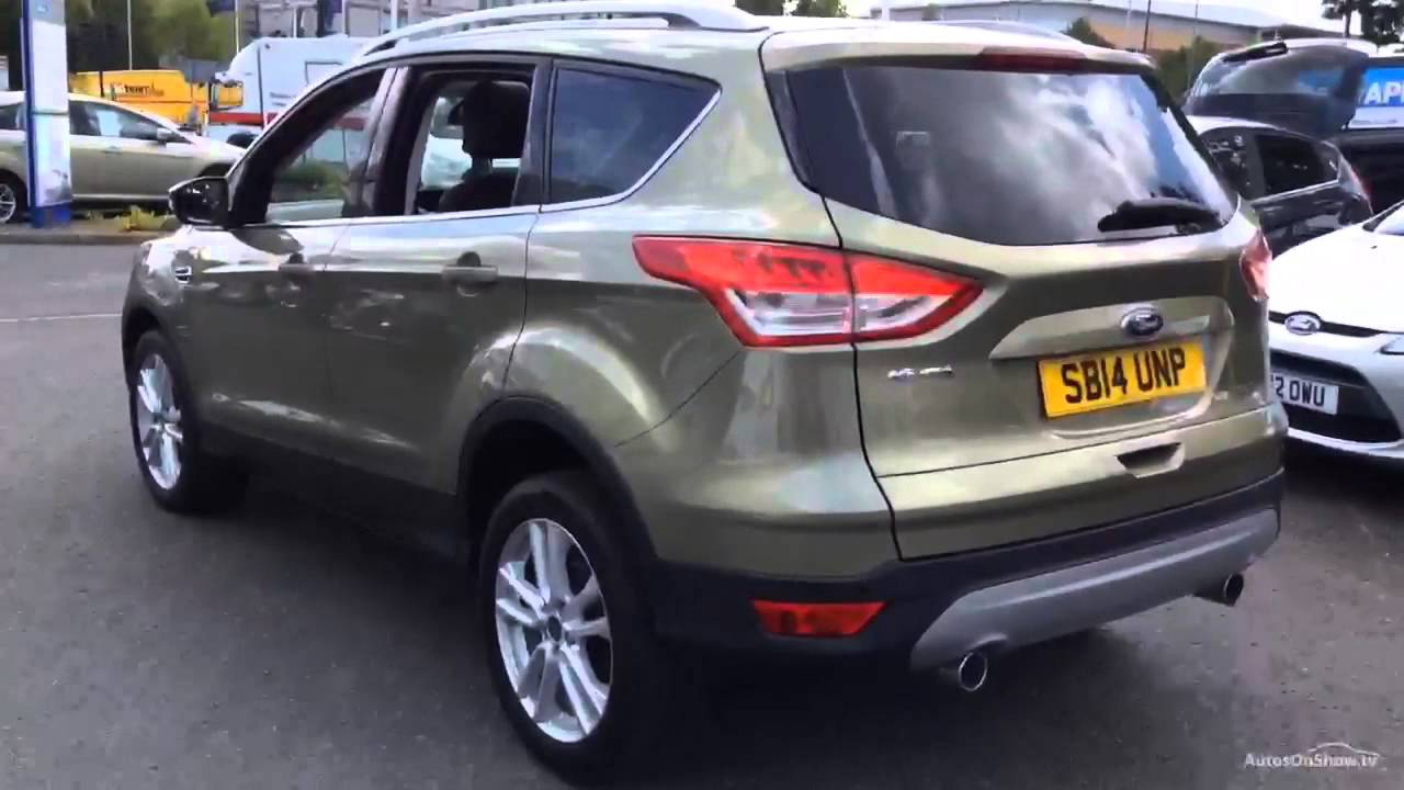 ford kuga titanium x tdci green 2014 youtube. Black Bedroom Furniture Sets. Home Design Ideas