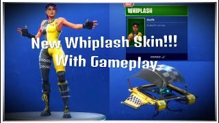 New Whiplash Skin!!!!! With Gameplay - Fortnite Battle Royale