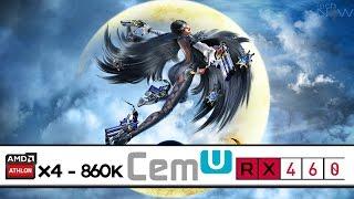 Bayonetta 2 | Athlon X4 860K - RX 460 | CEMU Wii Emulator
