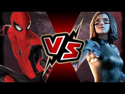 Spider-Man (MCU) VS Alita (ALITA: BATTLE ANGEL) | BATTLE ARENA