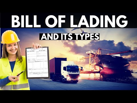 Bill Of Lading #Billoflading #Export #import #shipping