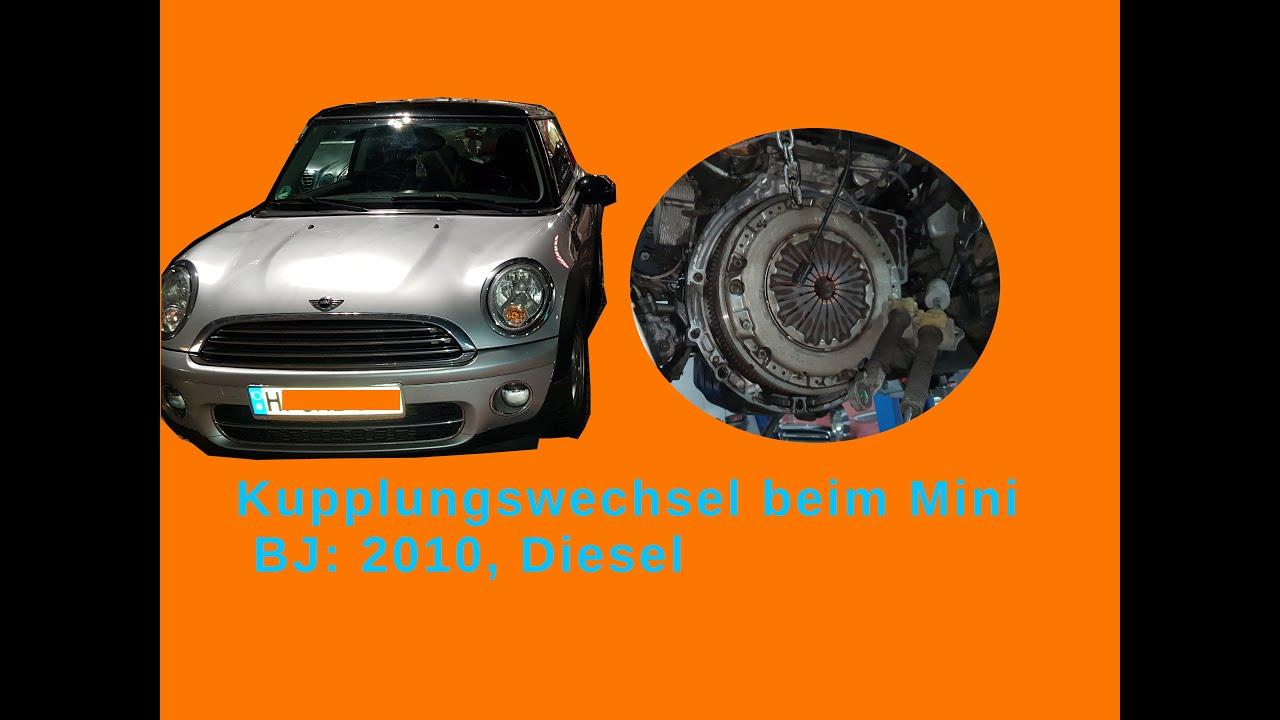 Kupplungswechsel beim Mini Diesel Tag 4