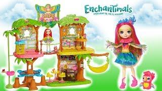 Enchantimals  Tropikalna kawiarenka  Magiczne przyjęcie  bajka po polsku