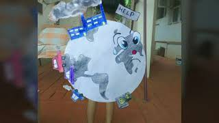 How to make fancy dress, on the theme Save earth| save water |save life