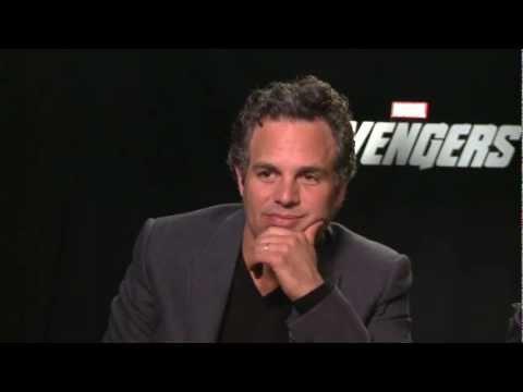 The Avengers - Mark Ruffalo Scarlet Johansson Interview