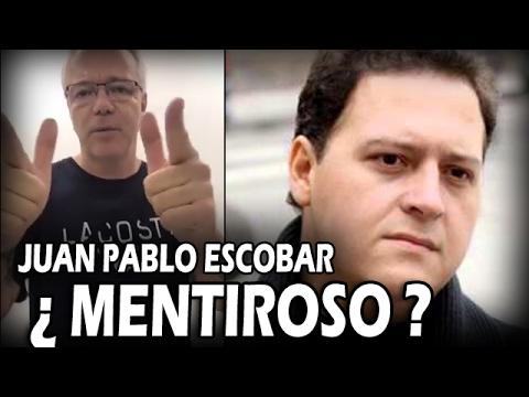 """Popeye"" ARREMETE FUERTEMENTE contra Juan Pablo Escobar !! ¿MENTIROSO?"