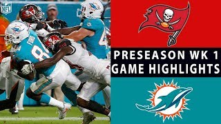 Buccaneers vs. Dolphins Highlights