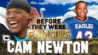 CAM NEWTON - Before They Were Famous - 2016 MVP