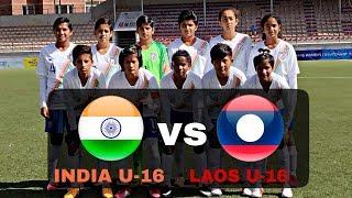 INDIA U-16 VS LAOS U-16 – AFC U-16 WOMEN'S CHAMPIONSHIP QUALIFIERS 2019