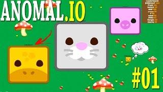 ANOMAL.IO - DOMINANDO O JOGO!! - Gameplay #1
