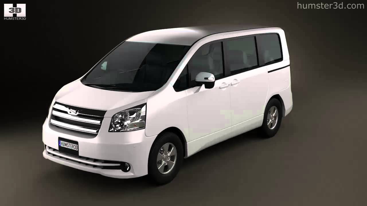 Toyota Noah (Voxy) 2010 By 3D Model Store Humster3D.com