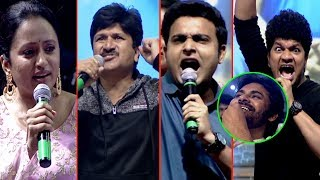 Anchor Suma Making Fun With Jabardasth Team At Chiranjeevi Birthday Celebrations