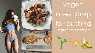 vegan meal prep | fat loss recipes