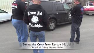 Nat Geo's Rescue Ink Visits Off-leash K9 Training! Dog Training Dc, Va, Md