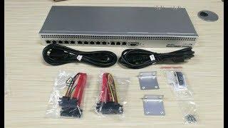 Unboxing dan Review Mikrotik RB1100DX4 / RB1100AHX4 Dude Edition