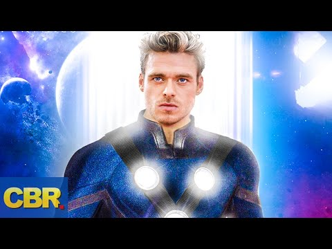 A First Look at Richard Madden's Ikaris from Marvel's Eternals - YouTube