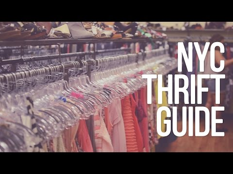✂ NYC Thrifting Guide With Maps