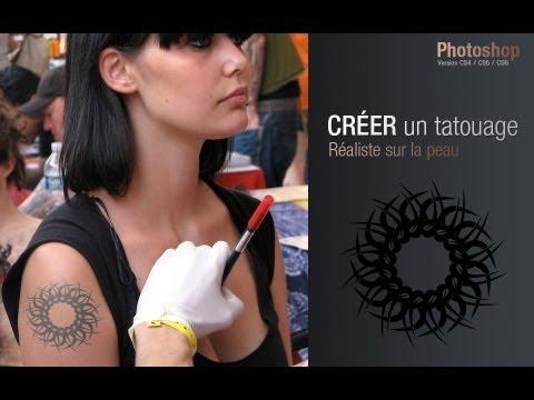 Tuto Simuler Un Tatouage Sur Votre Peau Avec Photoshop Cs6 Youtube