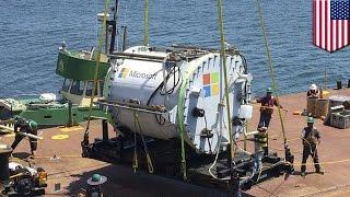Microsoft reaches new depths for new underwater data center - TomoNews