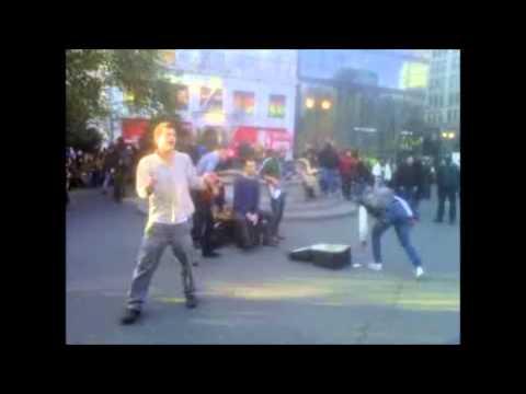 New York City Street Music, 4 Piece Band, Union Square