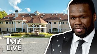 50 Cent Sells Mansion For $3 Million, Donating Money to Charity | TMZ Live