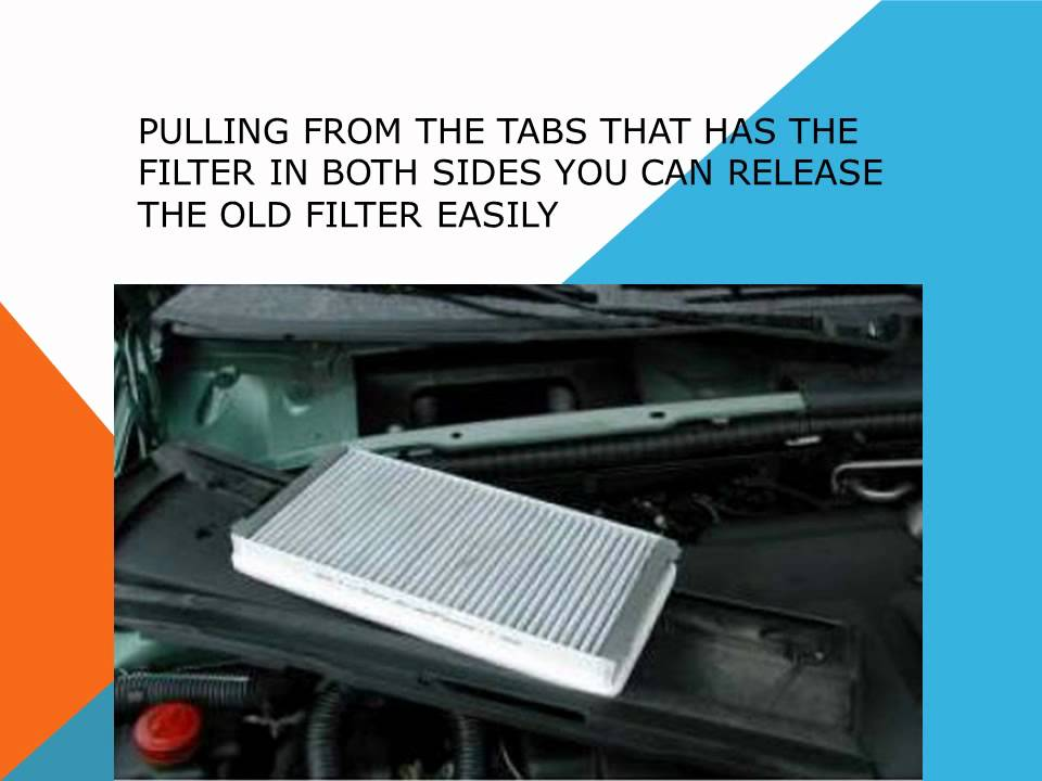 How to replace the air cabin filter dust pollen filter on for Interieur 307 sw