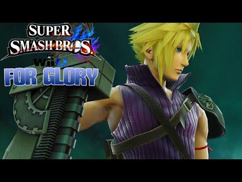 DA BLACK CLOUD STRIFE!! - Cloud Strife For Glory (Super Smash Bros Wii U)