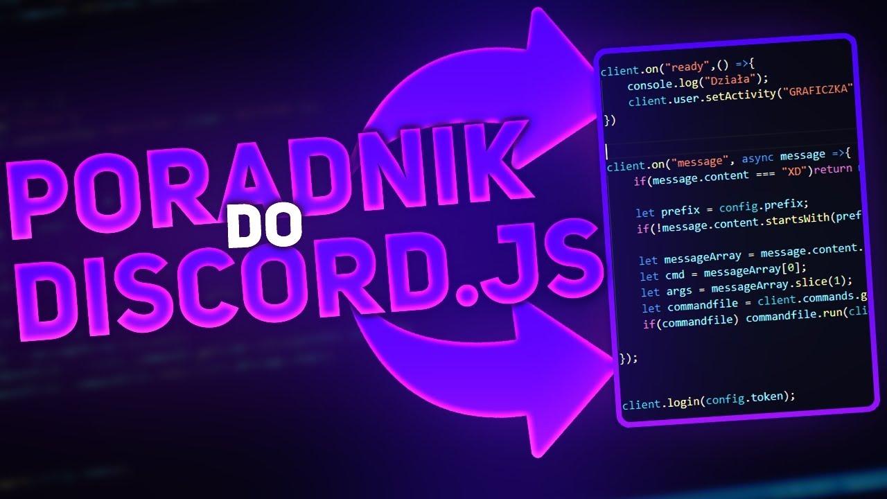 [DISCORD.JS v12] Command handler (pierwsza komenda) CZ.2 [#2]