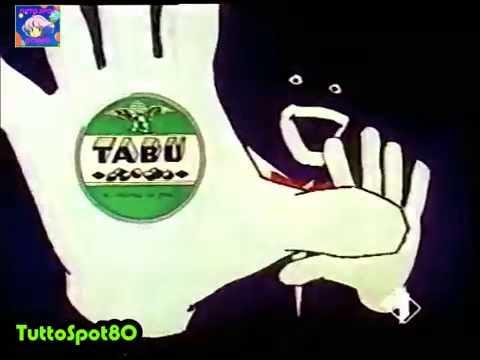 *RARO* Caramelle TABU' 1° versione  1986 SPOT
