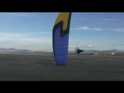 Insane Powered Paragliding! Flat Top Paramotor Death Spiral L&L!!!!
