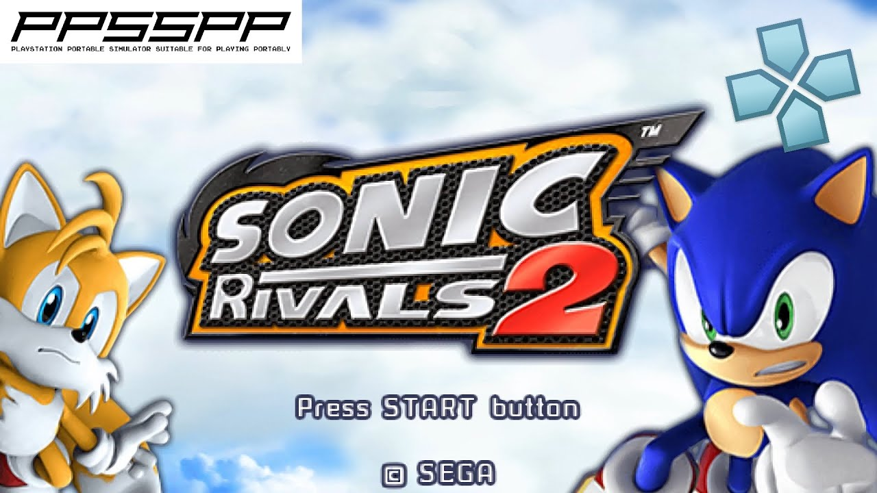 Sonic Rivals 2 - PSP Gameplay (PPSSPP) 1080p
