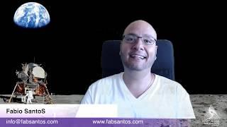 Fabio SantoS ao vivo - DNA humano, Nibiru, FaceApp e respondendo perguntas