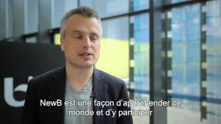 Joris Luyendijk over NewB : « Superwaardevol » * Joris Luyendijk commente NewB : « Super-précieux »
