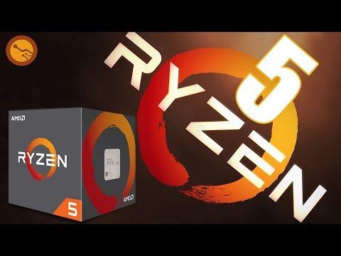 AMD RYZEN 5 a fondo ¿Merece la pena? Ryzen 5 1600X - 1600 - 1500X - 1400
