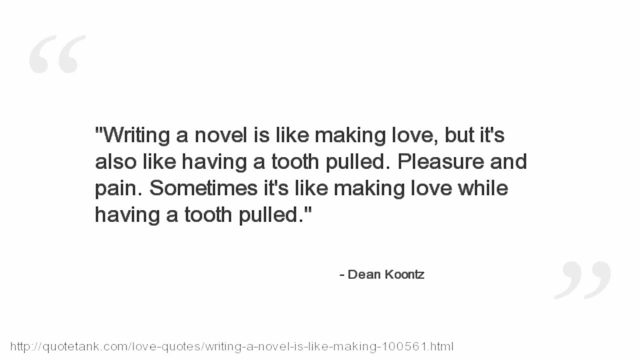 Making Love Quotes Pictures Dean Koontz Quotes  Youtube