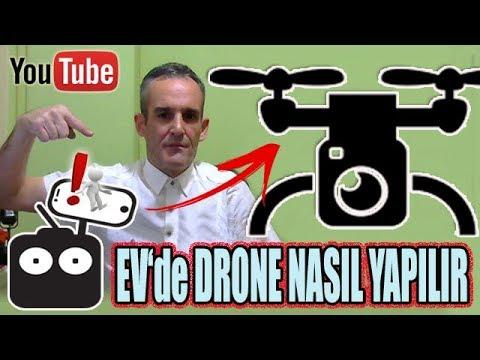 Wooww Ev Yapımı Ucuz Drone Nasıl Yapılır?