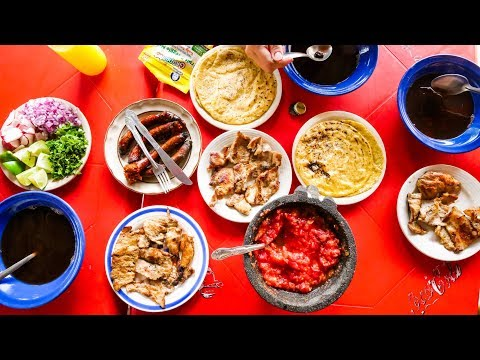 UNBELIEVABLE Mexican Food - SIZZLING MEAT + Cenote and Chichen Itza | Yucatán, Mexico!