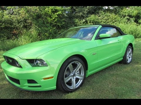 gotta have it green 2013 ford mustang gt convertible 401a. Black Bedroom Furniture Sets. Home Design Ideas