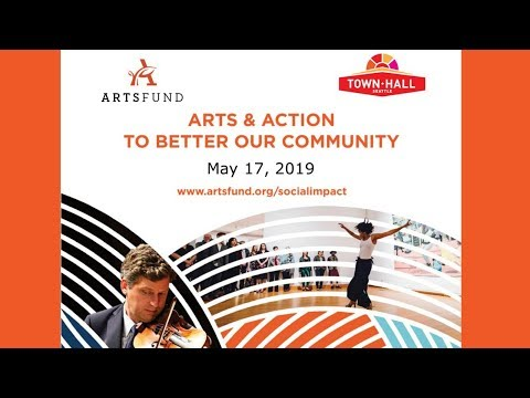 WATCH LIVE: ArtsFund panel at Town Hall Seattle - Arts & Action To Better  Our Community