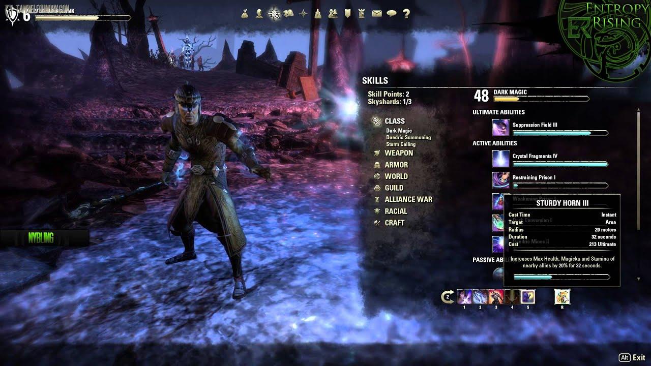 Eso Best Sorcerer Aoe Build
